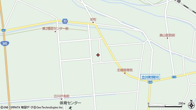 山形県東田川郡庄内町狩川西田115周辺の地図
