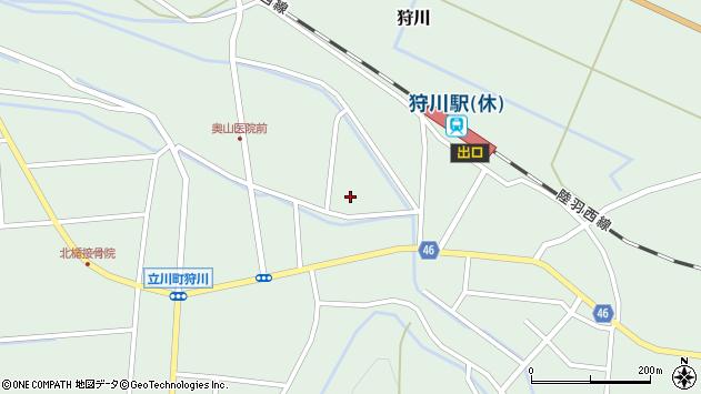 山形県東田川郡庄内町狩川小野里85周辺の地図