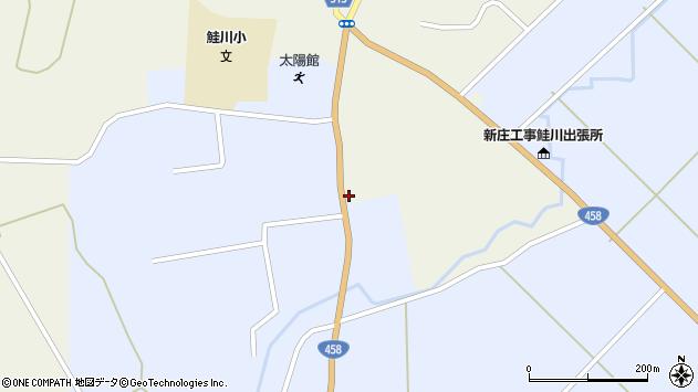 山形県最上郡鮭川村佐渡813周辺の地図