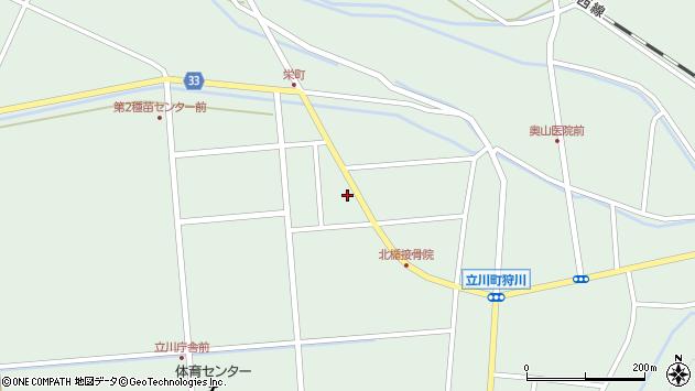 山形県東田川郡庄内町狩川西田17周辺の地図