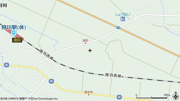 山形県東田川郡庄内町狩川堂ノ下44周辺の地図