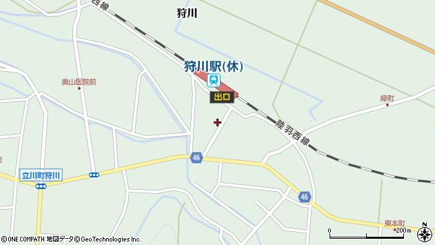 山形県東田川郡庄内町狩川今岡128周辺の地図