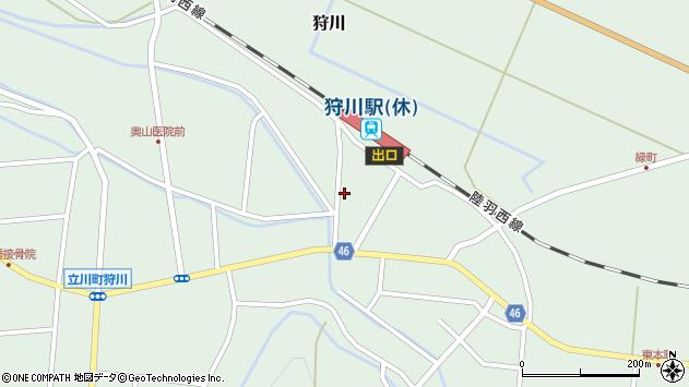 山形県東田川郡庄内町狩川今岡67周辺の地図