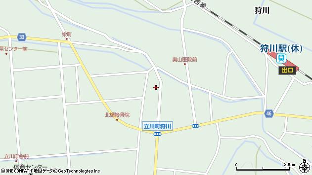 山形県東田川郡庄内町狩川小野里18周辺の地図