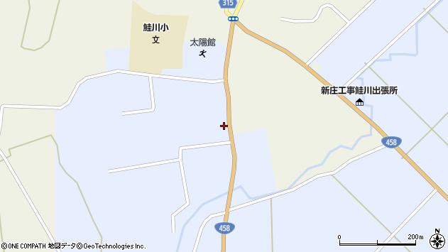 山形県最上郡鮭川村川口1509周辺の地図