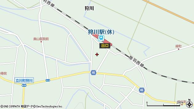 山形県東田川郡庄内町狩川今岡129周辺の地図