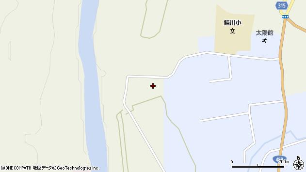 山形県最上郡鮭川村佐渡770周辺の地図