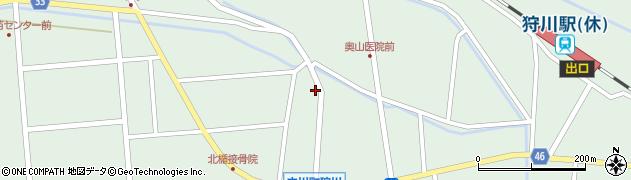 山形県東田川郡庄内町狩川小野里25周辺の地図