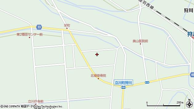 山形県東田川郡庄内町狩川西田113周辺の地図