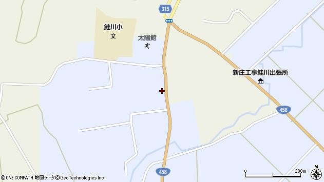 山形県最上郡鮭川村川口1510周辺の地図
