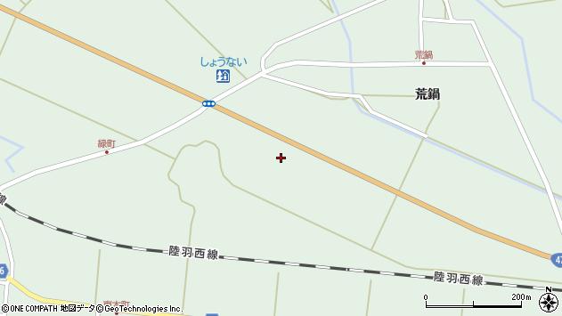 山形県東田川郡庄内町狩川外北割87周辺の地図