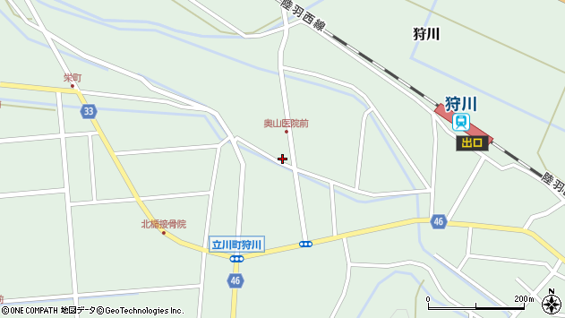 山形県東田川郡庄内町狩川小野里140周辺の地図
