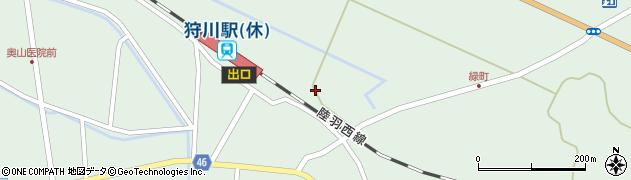 山形県東田川郡庄内町狩川今岡108周辺の地図