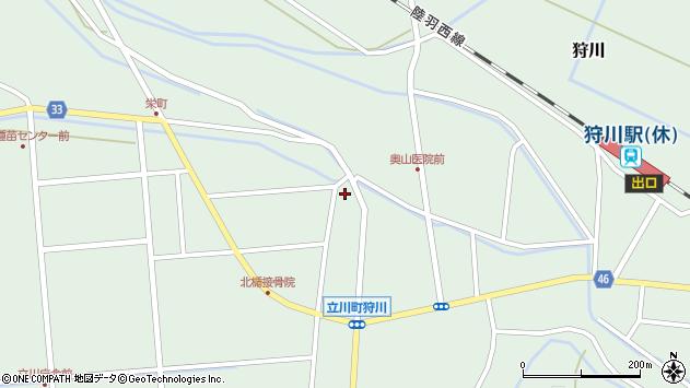 山形県東田川郡庄内町狩川小野里22周辺の地図