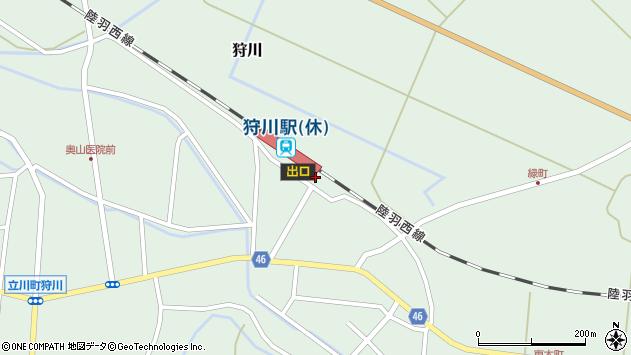 山形県東田川郡庄内町狩川今岡112周辺の地図