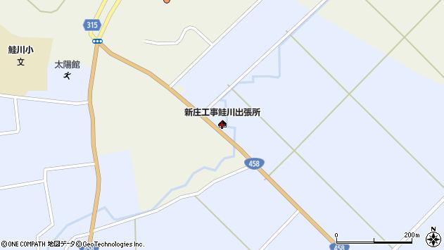 山形県最上郡鮭川村川口3018周辺の地図