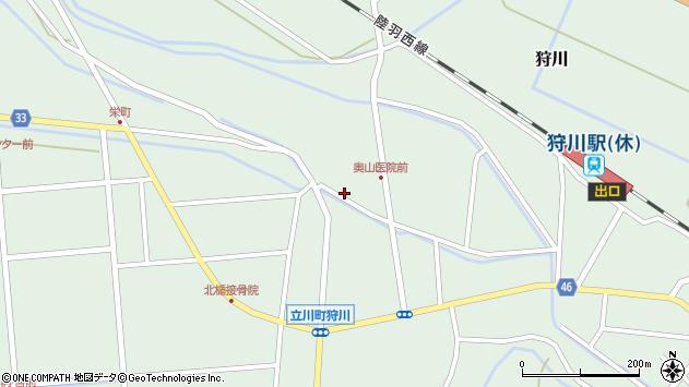 山形県東田川郡庄内町狩川薬師堂西31周辺の地図