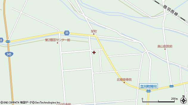 山形県東田川郡庄内町狩川西田107周辺の地図