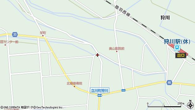 山形県東田川郡庄内町狩川西田56周辺の地図