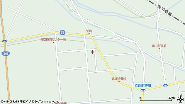 山形県東田川郡庄内町狩川西田106周辺の地図