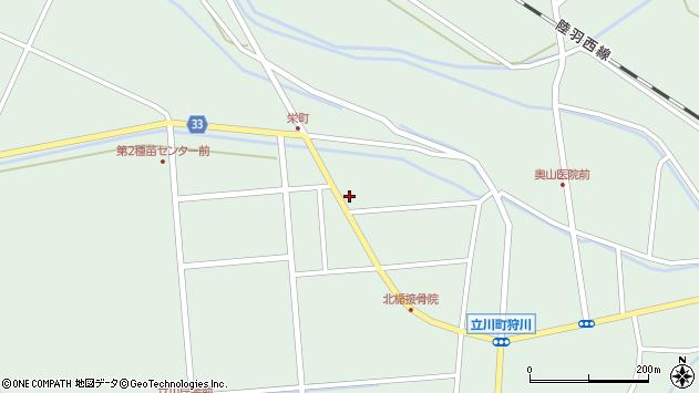 山形県東田川郡庄内町狩川西田24周辺の地図