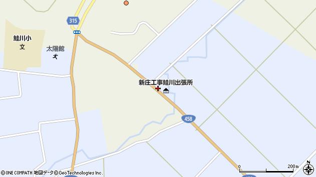 山形県最上郡鮭川村川口3022周辺の地図