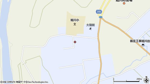 山形県最上郡鮭川村川口4487周辺の地図