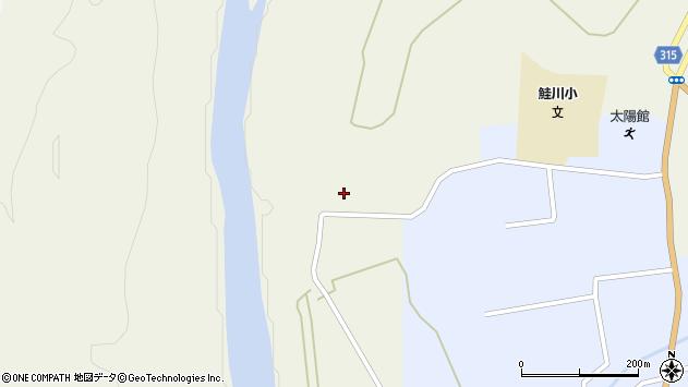 山形県最上郡鮭川村佐渡767周辺の地図