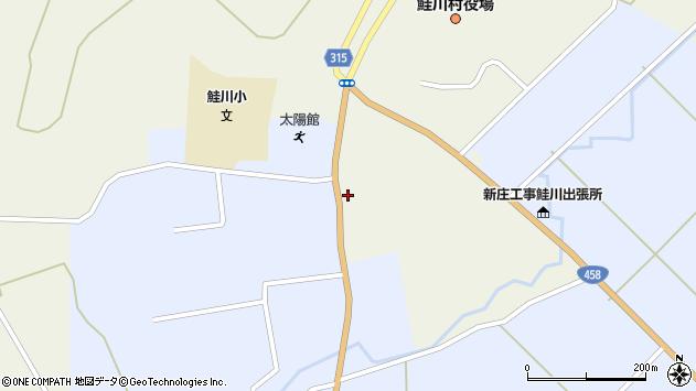 山形県最上郡鮭川村佐渡847周辺の地図