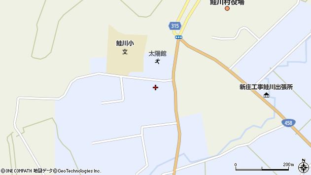 山形県最上郡鮭川村川口2836周辺の地図
