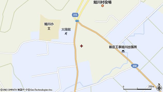 山形県最上郡鮭川村佐渡838周辺の地図