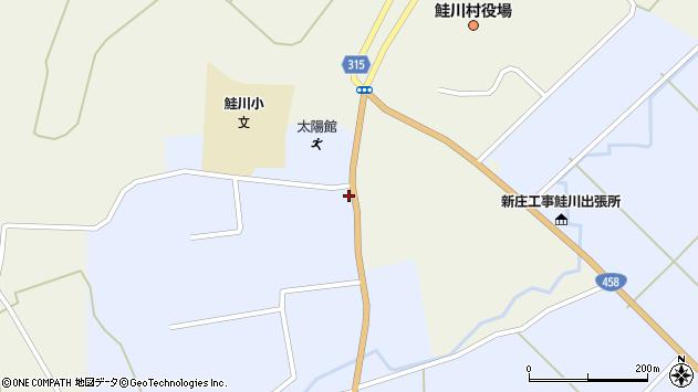 山形県最上郡鮭川村佐渡815周辺の地図
