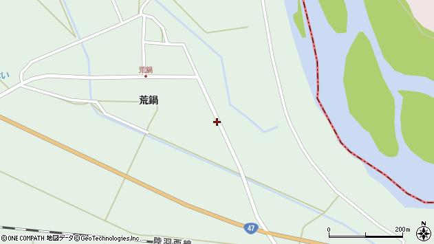 山形県東田川郡庄内町狩川荒鍋1周辺の地図