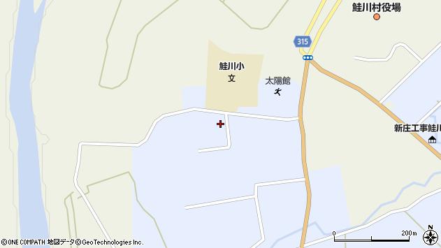 山形県最上郡鮭川村川口4466周辺の地図