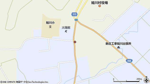 山形県最上郡鮭川村佐渡814周辺の地図