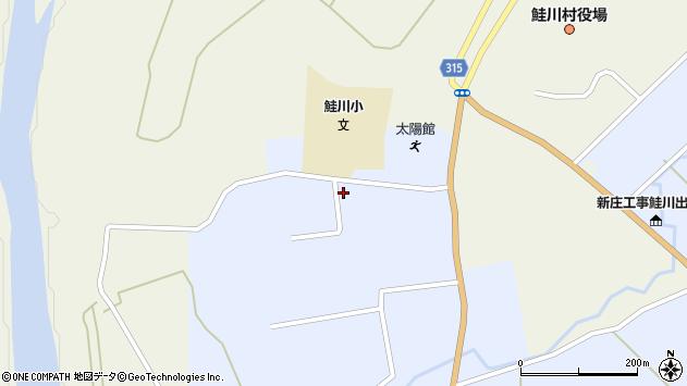 山形県最上郡鮭川村川口4469周辺の地図