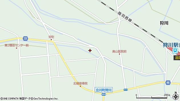 山形県東田川郡庄内町狩川西田8周辺の地図