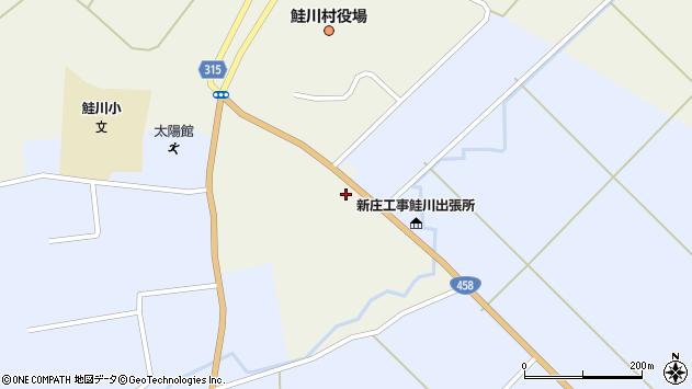 山形県最上郡鮭川村佐渡856周辺の地図
