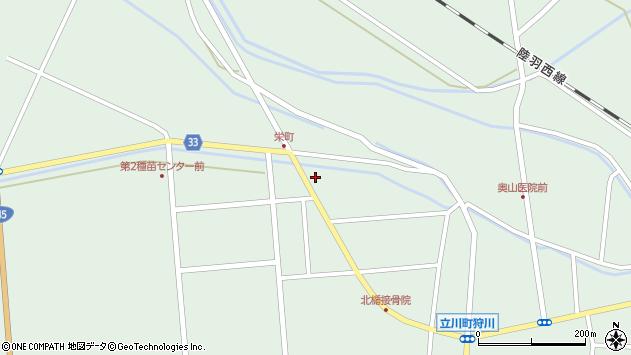 山形県東田川郡庄内町狩川西田23周辺の地図
