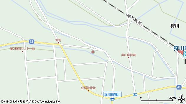 山形県東田川郡庄内町狩川西田10周辺の地図