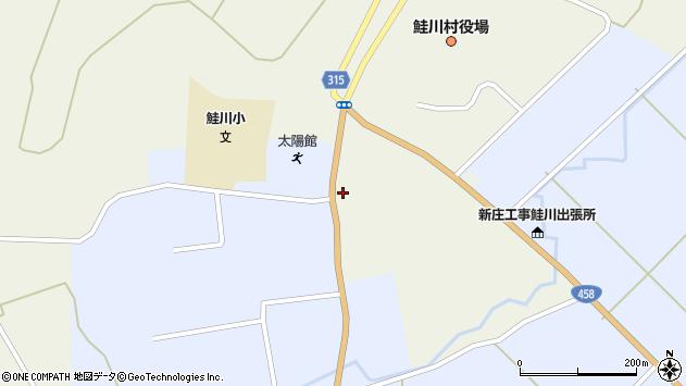 山形県最上郡鮭川村佐渡818周辺の地図