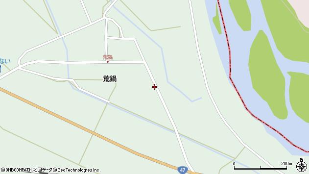 山形県東田川郡庄内町狩川荒鍋4周辺の地図