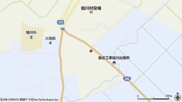 山形県最上郡鮭川村佐渡857周辺の地図
