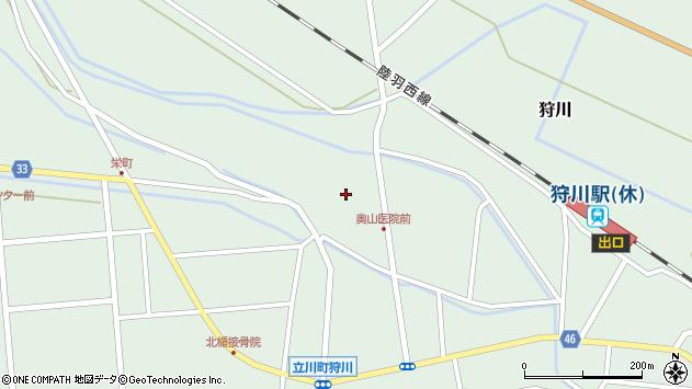 山形県東田川郡庄内町狩川薬師堂西15周辺の地図