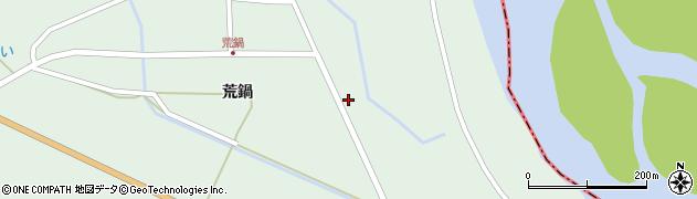 山形県東田川郡庄内町狩川荒鍋5周辺の地図