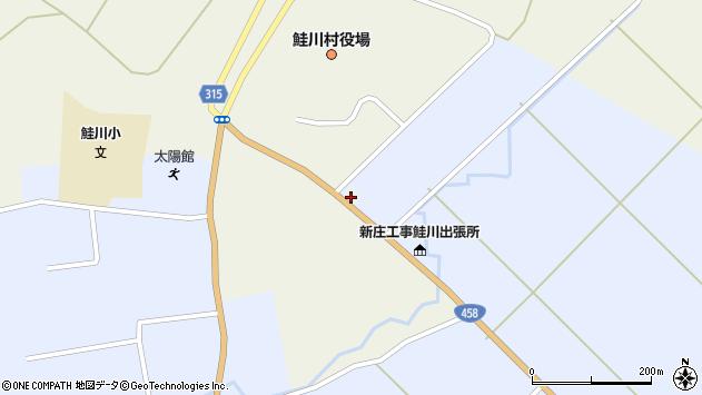 山形県最上郡鮭川村佐渡862周辺の地図