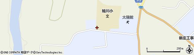 山形県最上郡鮭川村川口4434周辺の地図