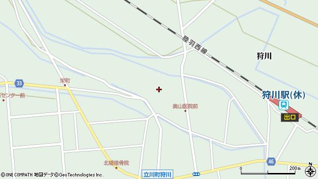 山形県東田川郡庄内町狩川薬師堂西51周辺の地図