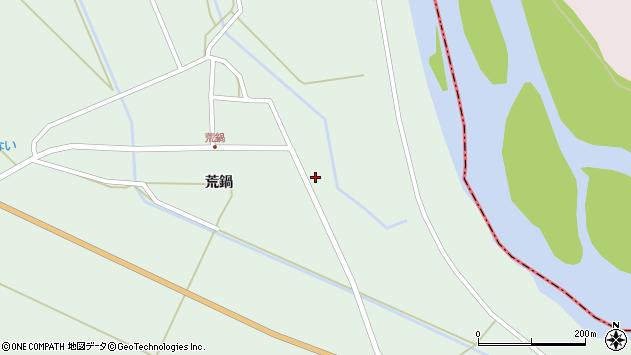 山形県東田川郡庄内町狩川荒鍋6周辺の地図