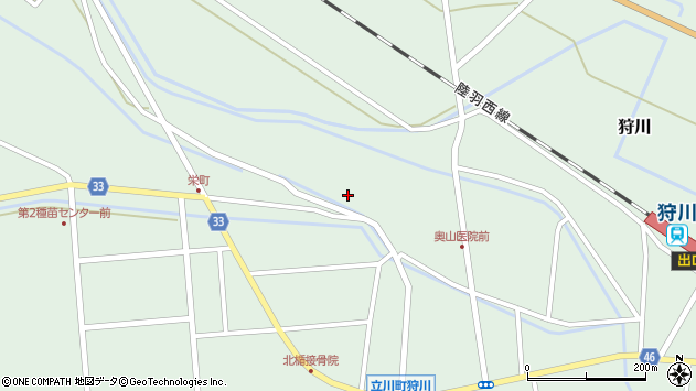 山形県東田川郡庄内町狩川薬師堂西94周辺の地図